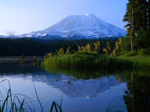 1_Mount_Adams_Early_Morning_Reflection_at_Takhlakh_Lake
