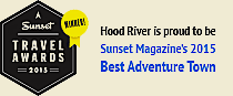 Hood River is Sunset magazine's 2015 Best Adventure Town